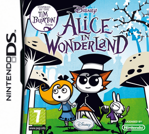 Alice in Wonderland (2010 video game) - Nintendo DS cover