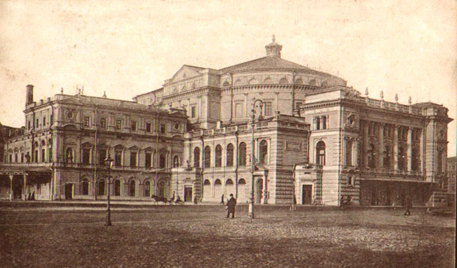 Maryinsky Theater in 1900s