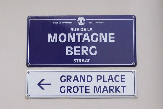 Brussels signs