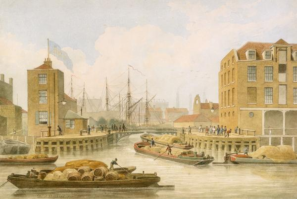 Regent's Canal Limehouse1823