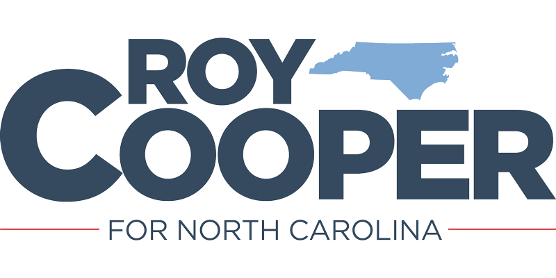Roy Cooper for Governor logo