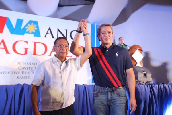 UNA, Partido Magdalo Sign Coalition Agreement
