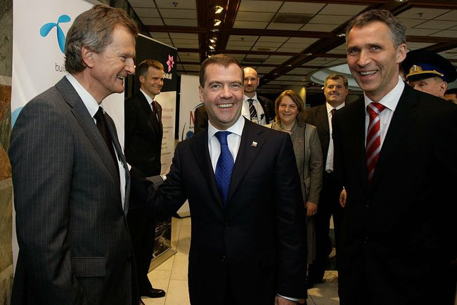 Medvedev in Norway (img12)