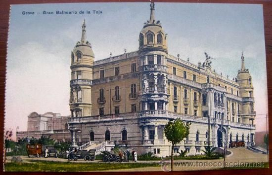 Old Spa Gran Hotel La Toja in 1907