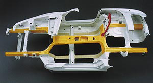 Honda S2000 high X-bone frame