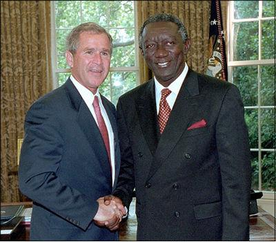 Kufuor and Bush