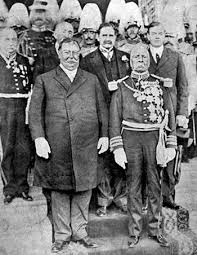 Presidents Taft and Diaz, Oct. 1909