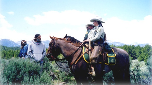 United States Forest Service Horse patrol