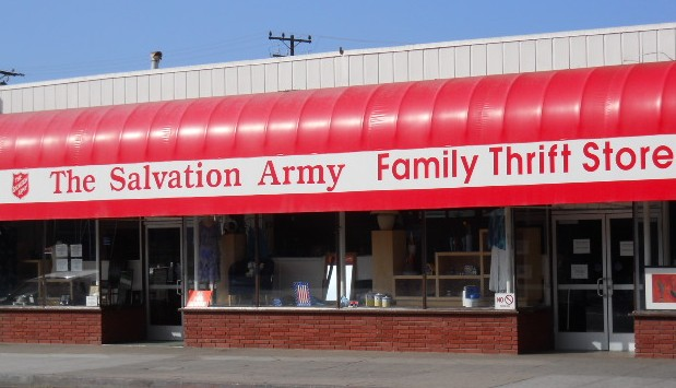 Salvation Army Thrift Store, Santa Monica, CA