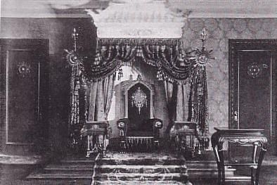 Throne of Emperor in Manchukuo