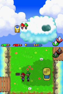 Mario & Luigi - Partners in Time screenshot
