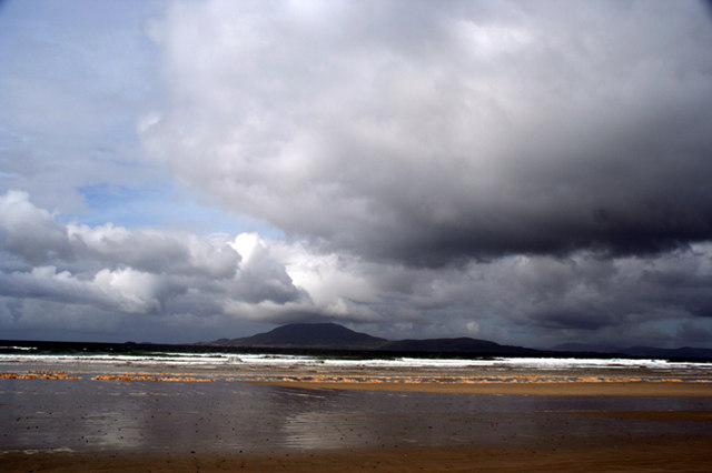 Storm Clouds towards Clare island - geograph.org.uk - 1032378