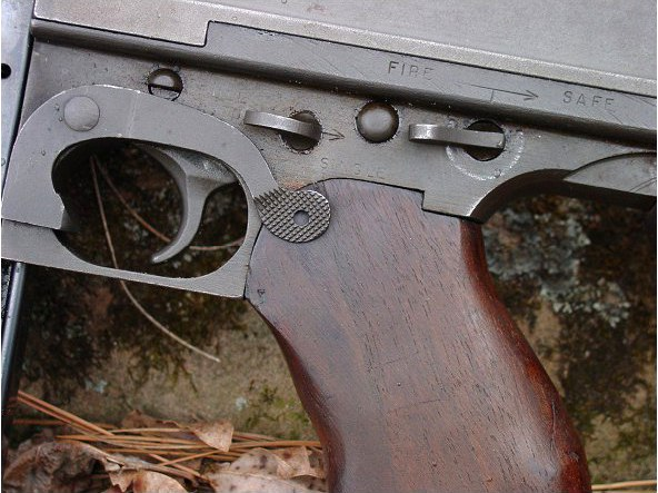 Thompson submachine gun Firecontrols