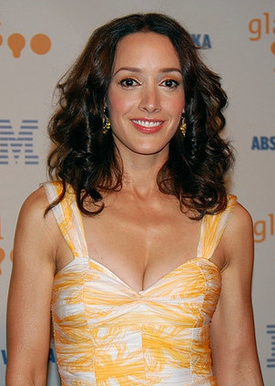 Jennifer Beals at GLAAD Awards cropped