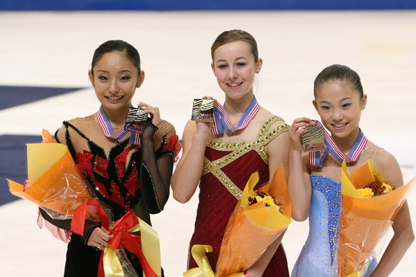 2007 Skate America Ladies Podium
