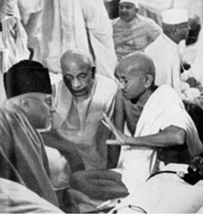 Gandhi, Patel and Maulana Azad Sept 1940