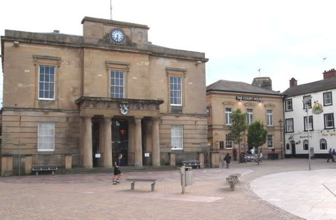 Mansfield Old Town Hall and Old Court