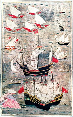 Ottoman fleet Indian Ocean 16th century
