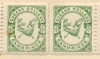 Queens' College Cambridge Stamp