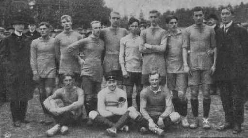Sweden national football team 1911