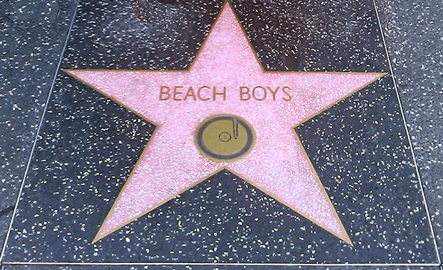 Beach Boys Walk of Fame