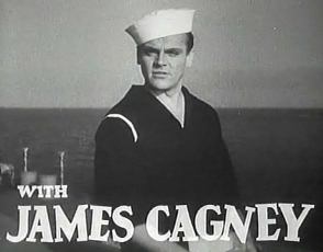 James Cagney in Here Comes the Navy trailer
