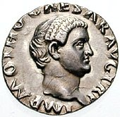 Roman coin showing Otho