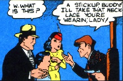 The Wayne Family and Joe Chill (Detective Comics -33 (November 1939))