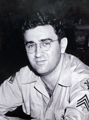 Jerry Siegel in Uniform ca1943 cropped.jpg