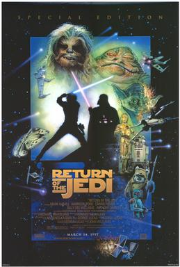Return of the Jedi (1997 re-release poster)