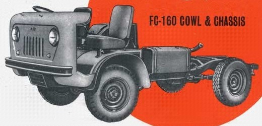 Jeep FC-160 CowlAndChassis