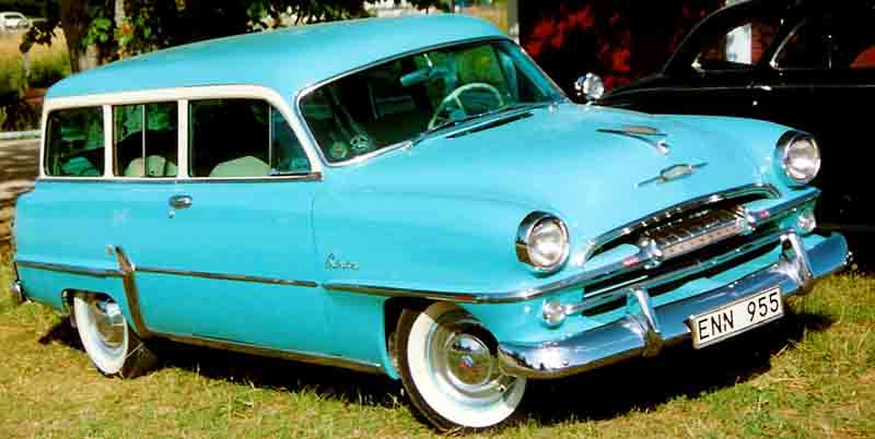 Plymouth Station Wagon 1954 two-door