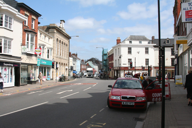 Wellington, Fore Street - geograph.org.uk - 159288