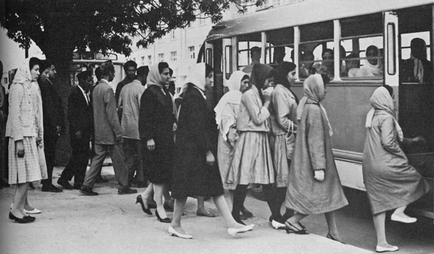 1950s Afghanistan - Public transport in Kabul
