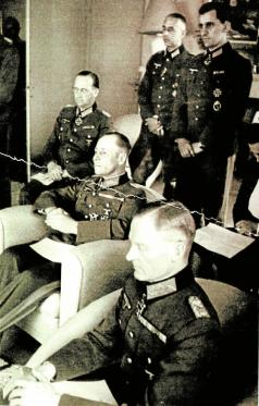 A meeting between the military resistance's inner circle and Rommel, Mareil-Marly, 15. May 1944