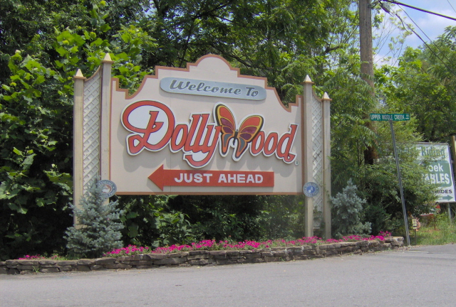 Photo of the entrance to Dollywood