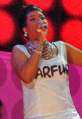 Macy Gray at Live Earth Brazil 2007