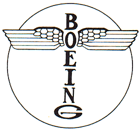 Boeing's first logo