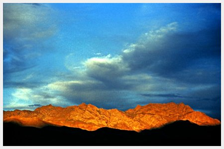 Kargil sunset