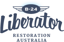 B-24 Liberator Memorial Restoration Fund logo.png