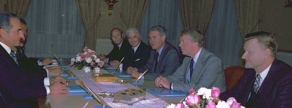The Shah with Atherton, Sullivan, Vance, Carter and Brzezinski, 1977