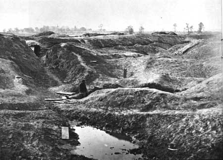 Petersburg crater aftermath 1865