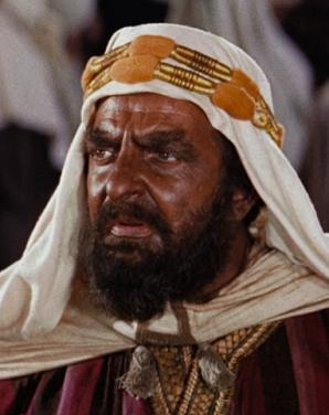 Hugh Griffith in Ben Hur (2)