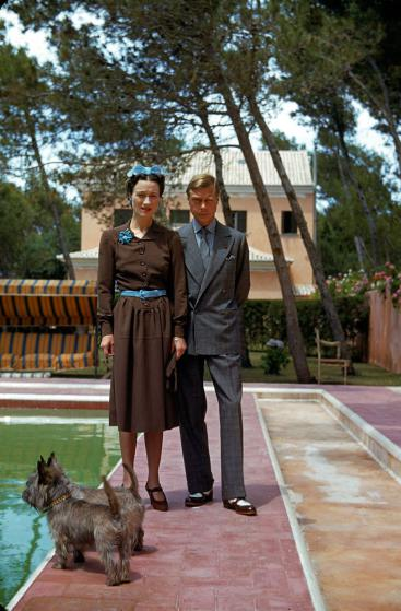 Duke and Duchess of Windsor, Cascais