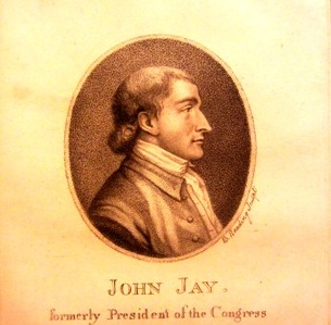 John Jay portrait in Jay Heritage Center Collection