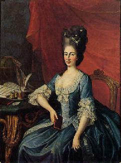 Portrait of Maria Beatrice d'Este, Archduchess of Austria by Joseph Hickel.jpg