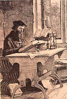 John Wycliffe at work