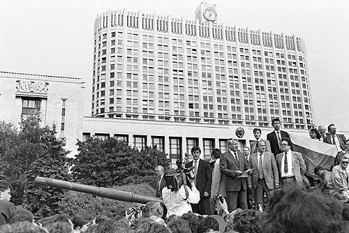 Boris Yeltsin 19 August 1991-1