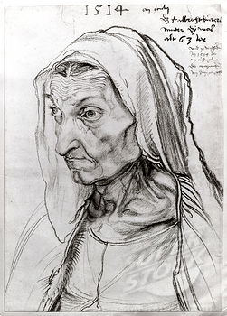 Dürer - Bildnis der Mutter