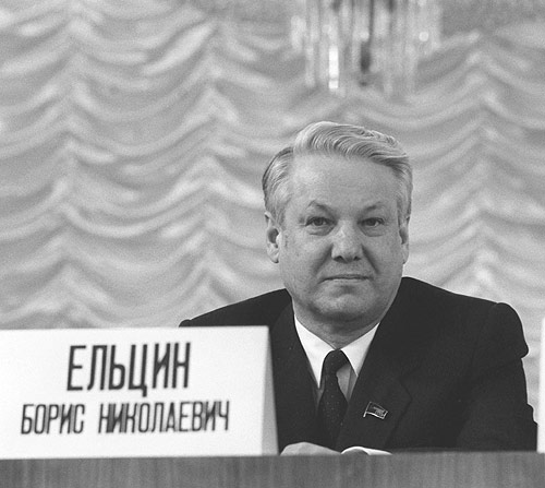 Boris Yeltsin 21 February 1989-1